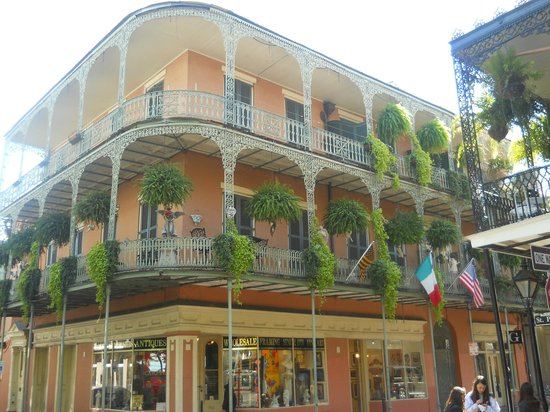 Historical Architecture In French Quarter Picture Of French Quarter New Or