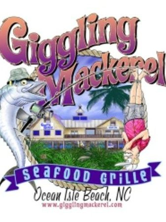 Giggling Mackerel Seafood Grille: Logo