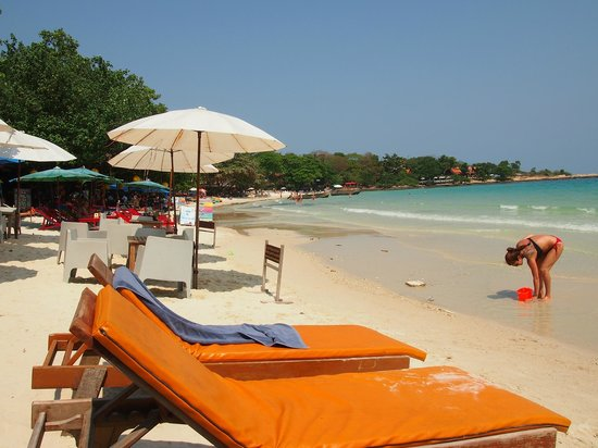 La Lune Beach Resort: The view from Lalune Beach