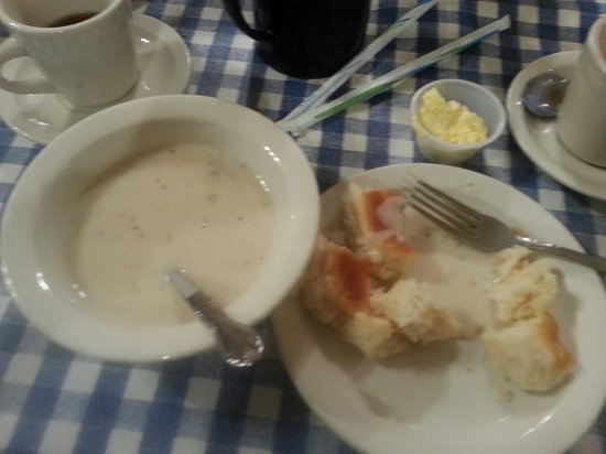 Blue Plate Cafe Downtown : Biscuits and gravy