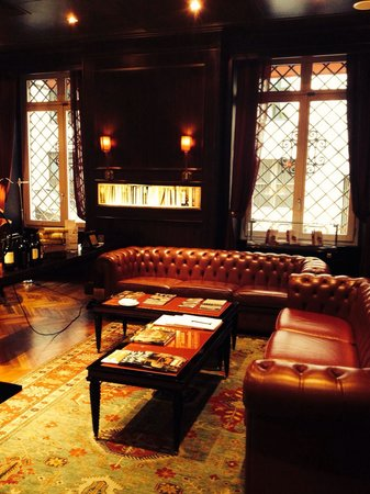 Aleph Hotel Rome: Library room/Restaurant
