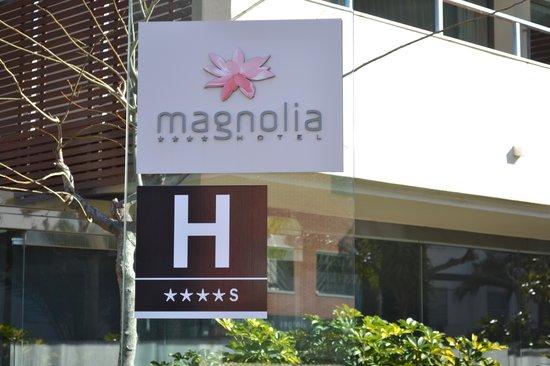 Magnolia Hotel: entrée