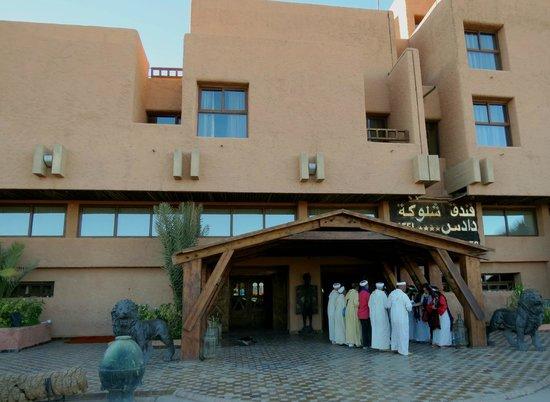 Hotel Xaluca Dades: Fachada.
