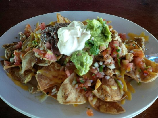 Campesino Bistro & Bar: Some of the best nachos I've ever had!