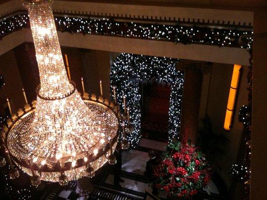 The Dome Edinburgh at Christmas