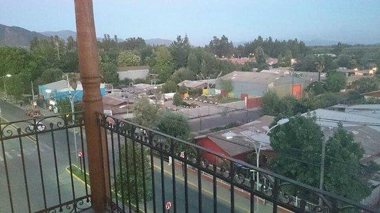Hotel Santa Cruz: Balcon habitacion