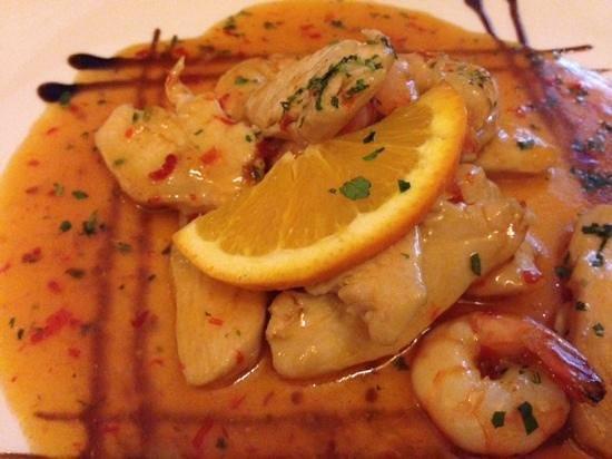 A Cozinha do Chefe Matos : Frango com camarões em molho agridoce picante