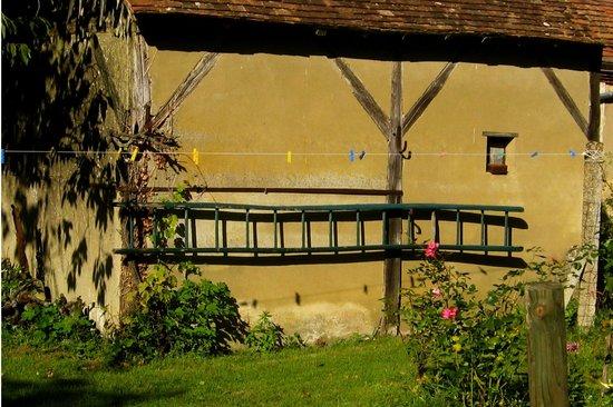 Maison Conti: walking in the villiage