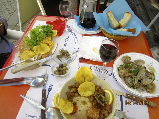 Hotel Castelo de Vide: Wonderful local fare