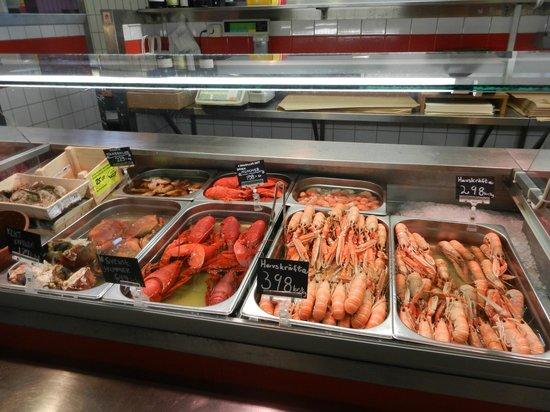 Feskekorka / Fiskekyrkan: Lobsters