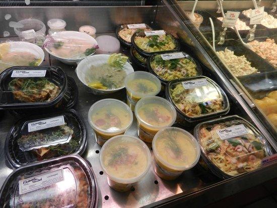 Feskekorka / Fiskekyrkan: Soups, macaroni...