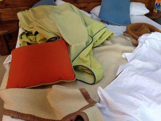 Marinas Alto Manzano: La manta de campamento que no cubre el frío