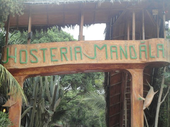 ENTRADA HOSTERIA MANDALA