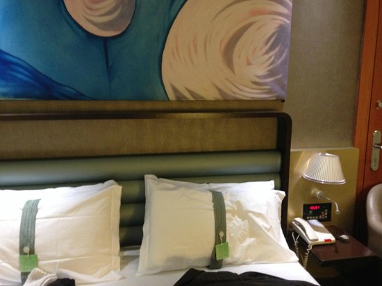 Holiday Inn Turin City Center : cama