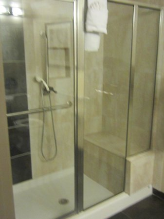 Best Western Premier Crown Chase Inn & Suites: Shower.