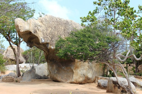 Stonehenge of Aruba: Formação rochosa