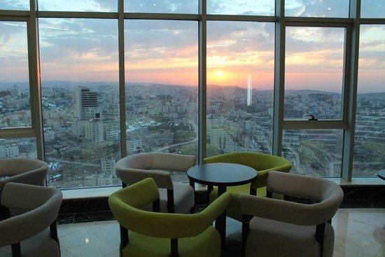 Palestine Plaza Hotel: Palestine Trade Tower Revolving Restaurant