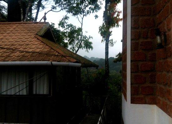Hotel Eletaria Resort: Vista do quarto - lindas montanhas e clima ótimo!