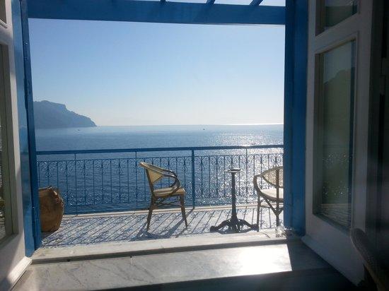 Villa San Michele: il buongiorno si vede dal mattino. ..
