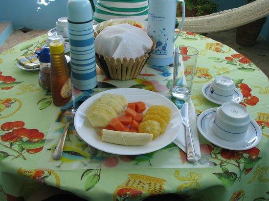 Hostal Casa di  Elio Ramos: Desayuno