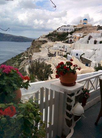 Alexander's Boutique Hotel of Oia: Good morning, Santorinii!