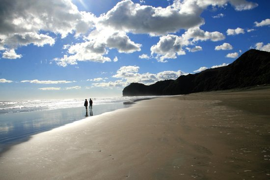 Waitakere City, Nowa Zelandia: Karekare & Piha Beach Tour - Piha Beach