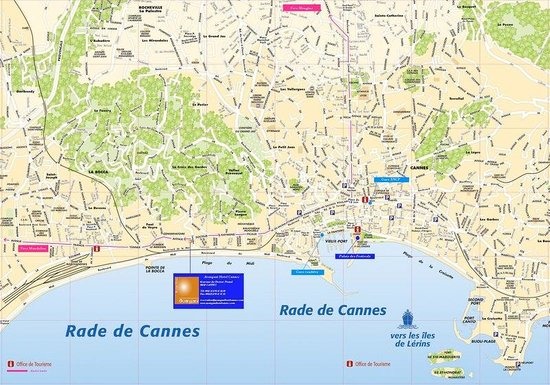 Holiday Inn Cannes : Location map