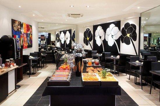 BEST WESTERN PLUS Hotel Massena Nice : Breakfast Room At Hotel Massena Nice
