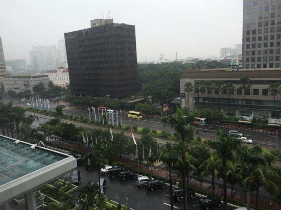 Sari Pan Pacific Jakarta: 部屋からの写真