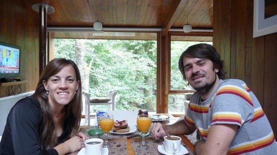 Kalasur Patagonia Apart Hotel : un placer desayunar en este lugar!!