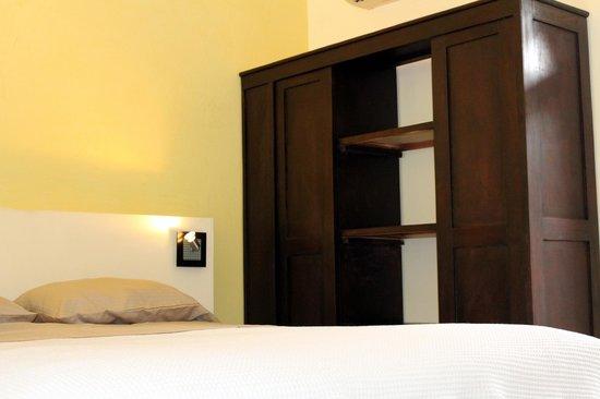 Hotel Nahua : Queen bed