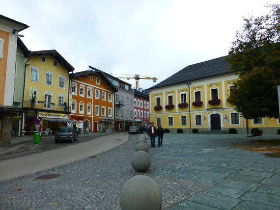 Panorama Tours Original Sound of Music Tour: The quaint little mountain town of Mondsee