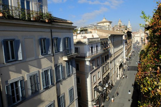 Residenza Horti Luculliani: View from the terrace