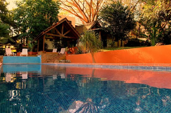Hotel Nahua : Pool and recreational area
