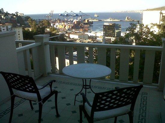 Casa Higueras: Private balcony. Room #10