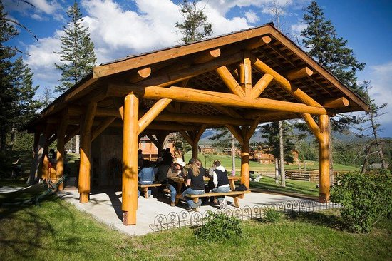 Echo Valley Ranch & Spa: Echo Valley - OUtdoor BBQ Area