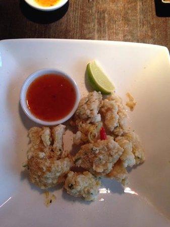 Dim T - West End: Five Spice Calamari
