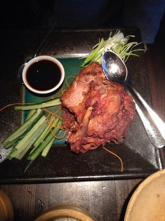 Dim T - West End: Duck with Spring onions