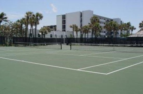Turtle Reef Club : Tennis Courts