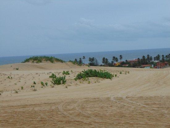 Praia de Cumbuco: dunas