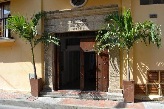 Patio De San Diego, Cartagena De Indias