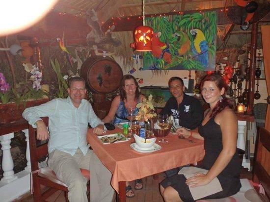 Dinner Los Tres Cocos