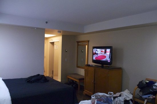 Executive Royal Hotel Calgary: Room/Television