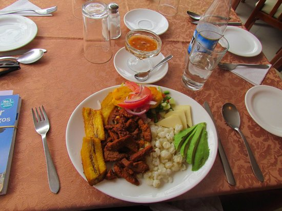 Hotel El Indio Inn: lunch - tender and tasty