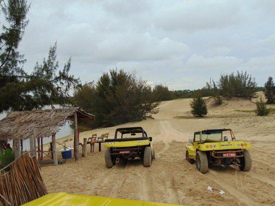 Praia de Cumbuco: passeio de buggy