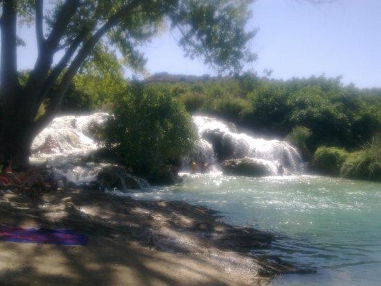 Doña Ruidera: cascadas