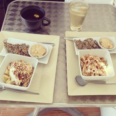 Fitness Cafe: breakfast