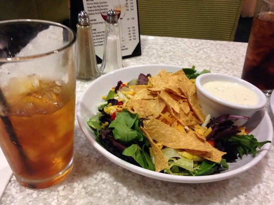 SpringHill Suites Miami Airport East/Medical Center : Southwest salad without chicken