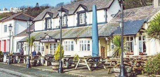 The Terminus Tavern: Outside