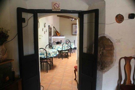 Vista desde el salón 1 de Pizza Christophe